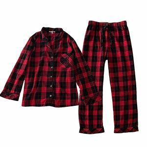 Victoria's Secret Plaid Flannel Pajamas